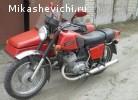 Мотоцикл с коляской Иж Ю5-1991